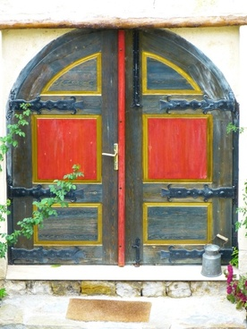 door goal house entrance