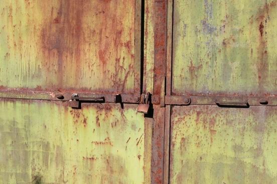 door industrial iron
