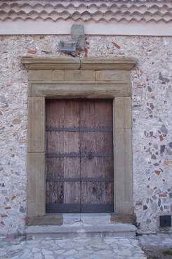 door portal entrance