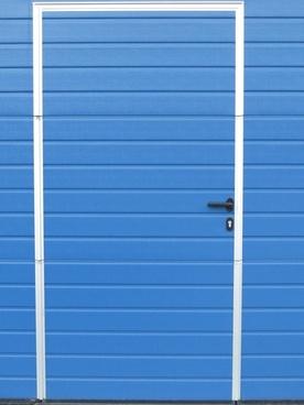 door sheet blue