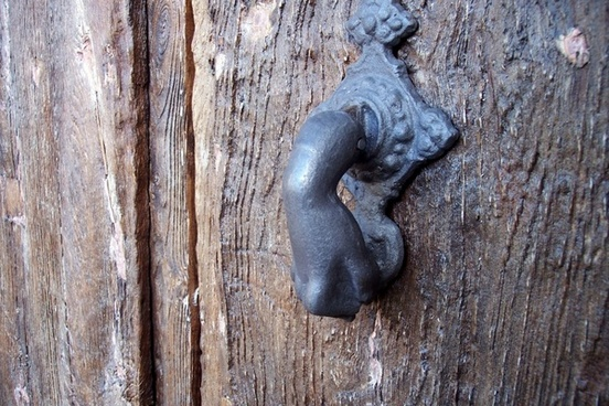 doorknocker door door hardware
