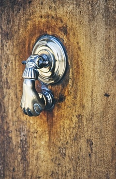 doorknocker door handle door