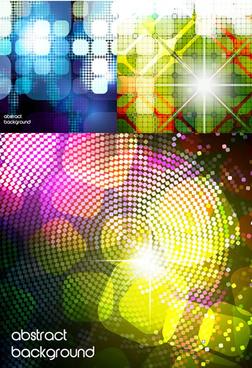 dot light background design vector