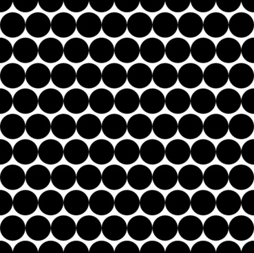 Dots Offset Radius 5 Pattern clip art