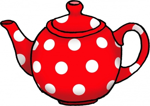 dotty tea pot