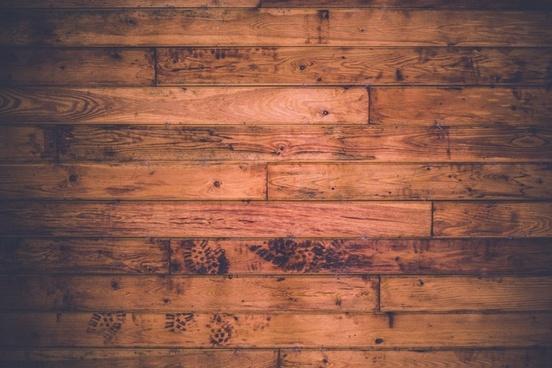 down floor footprint line pattern plank wood