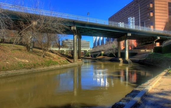 downtown bridges in houston texas