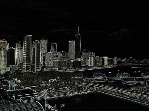 downtown chitown aglow