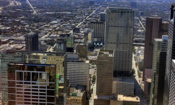 downtown houston view in houston texas