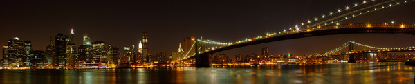 downtown manhattan panorama from the brooklyn heights promenade brooklyn ny