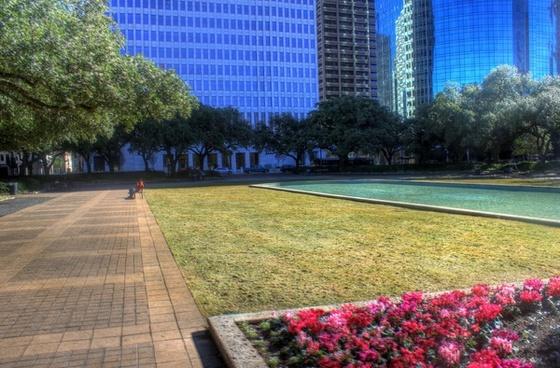 downtown park in houston texas