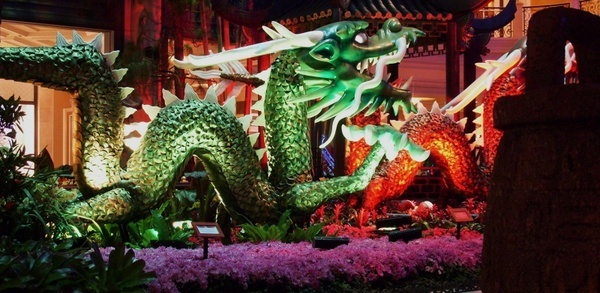 dragon at bellagio casino