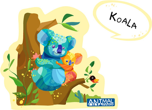 draw koala vector
