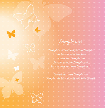 dream butterfly background