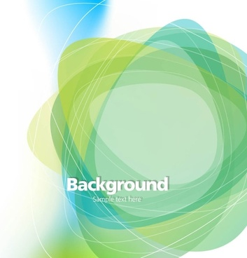 Dream green abstract background 02 vector