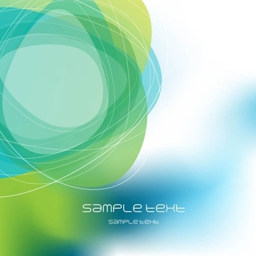 Dream green abstract background 03 vector