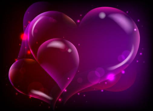dream heart background