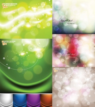 dream of light vector background