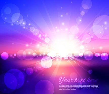 light background modern vivid sparkling bokeh decor