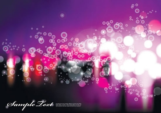 decorative background bright modern bokeh light effect