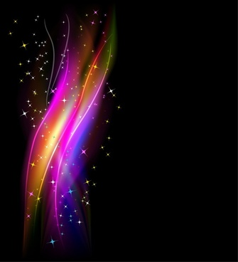 abstract background colorful sparkling dynamic light effect decor