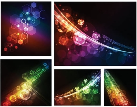 lights background templates modern colorful twinkling motion design