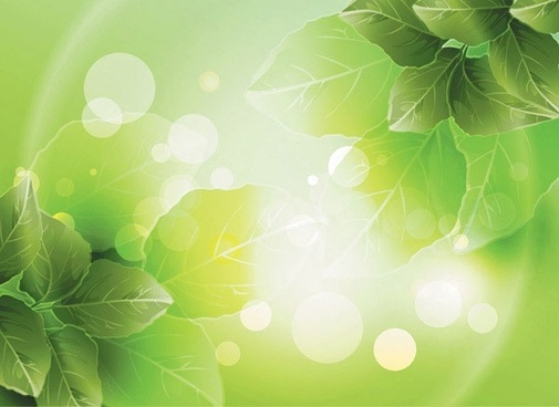 dream vector background 3 plant