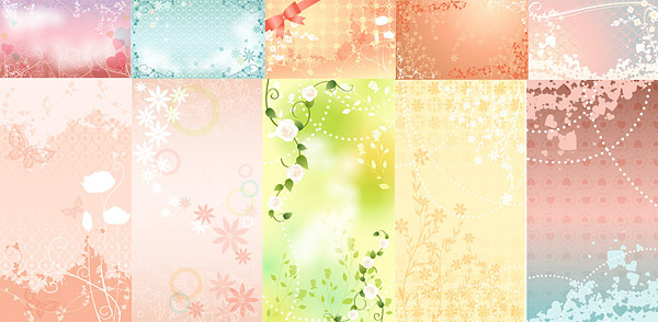 dream wedding background art vector