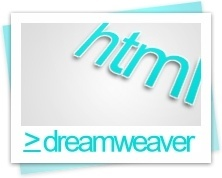 Dreamweaver html file