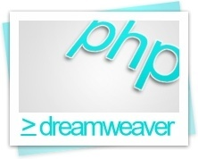 Dreamweaver php file