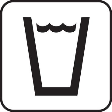 Drink Beverage Map Sign clip art