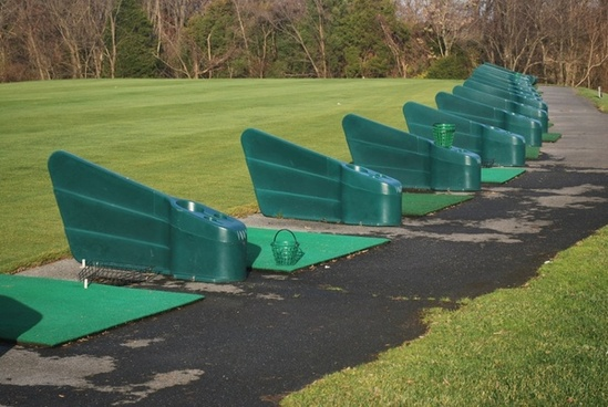 driving range booths