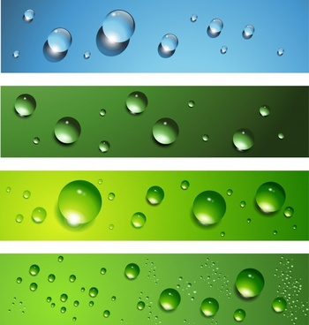 droplets background templates colored modern realistic 3d decor