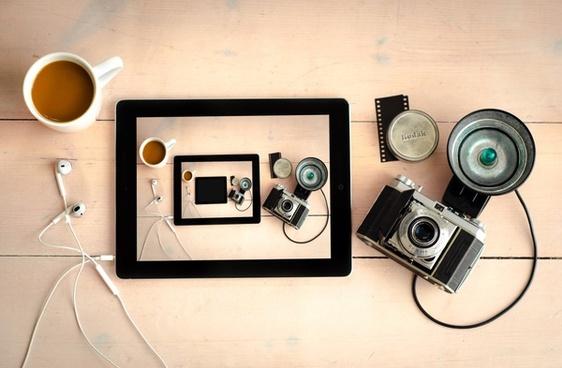 droste effect using a kodak camera