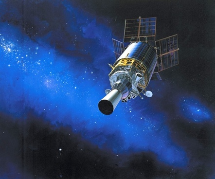 dsp satellite space