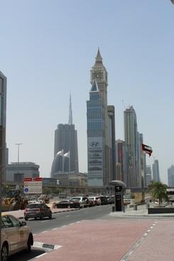 dubai skyscraper city