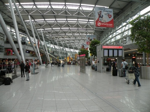 dusseldorf germany international airport