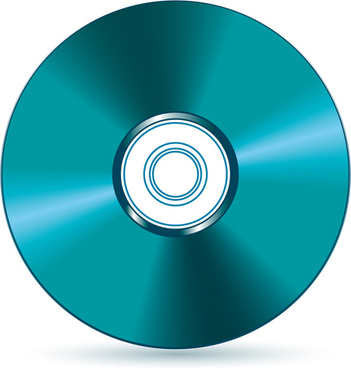 dvd disc design template vector graphic