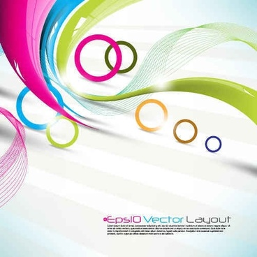Dynamic Abstract Color Backgrounds