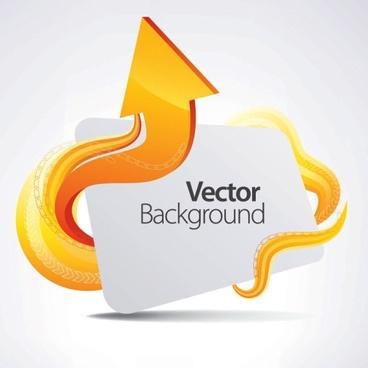 dynamic arrow 04 vector