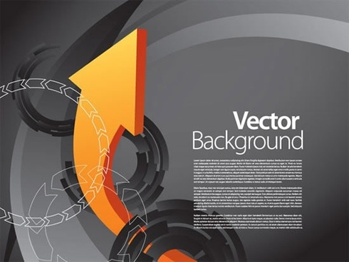 technology background modern arrows motion decor