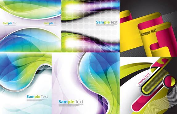 dynamic background vector graphic