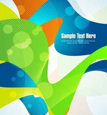 dynamic background vector illustration of abstract elements