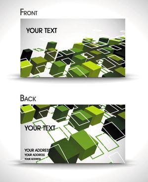 dynamic brilliant card background vector