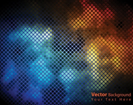 dynamic brilliant color background 05 vector