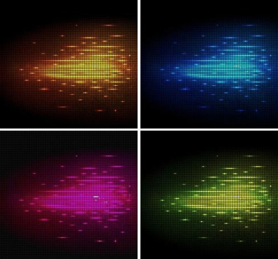 led light background templates modern dark colored decor