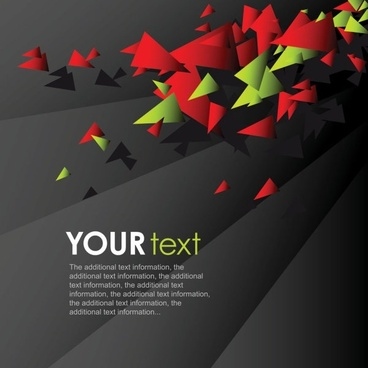 dynamic colorful background 02 vector