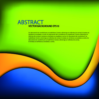 dynamic curves vector background