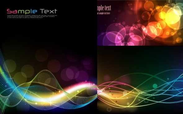 dynamic effects light line 2 vector