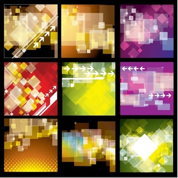 decorative backgrounds modern colorful blurred geometric design